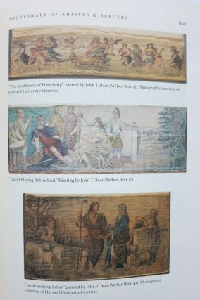 ANNOTATED DICTIONARY OF FORE-EDGE PAINTING ARTISTS & BINDERS [with] THE FORE-EDGE PAINTINGS OF MISS C.B. CURRIE WITH A CATALOGUE RAISONNE.