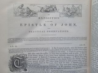 AN EXPOSITION ON THE OLD AND NEW TESTAMENTS... WITH PRACTICAL REMARKS AND OBSERVATIONS.