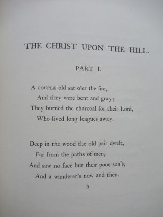 THE CHRIST UPON THE HILL, A BALLAD.
