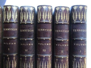 THE WORKS OF ALFRED, LORD TENNYSON.
