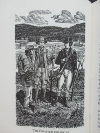 THE FORESTERS, A poetic account of a walking journey to the Falls of Niagara in the Autumn of 1804.